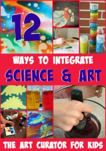 The Art Curator for Kids - 12 Ways to Integrate Art and Science-300