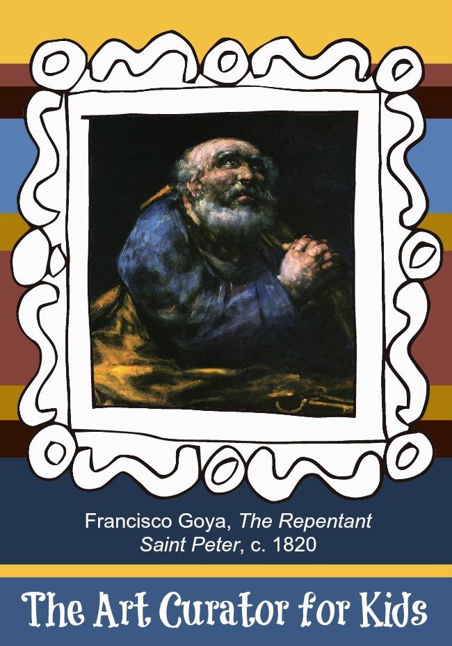 Artwork of the Week: Goya's The Repentant Saint Peter