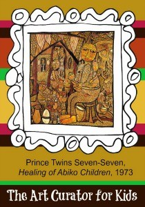 The Art Curator for Kids - Artwork of the Week - Twins Seven Seven, Healing of Abiko Children, 1973-300