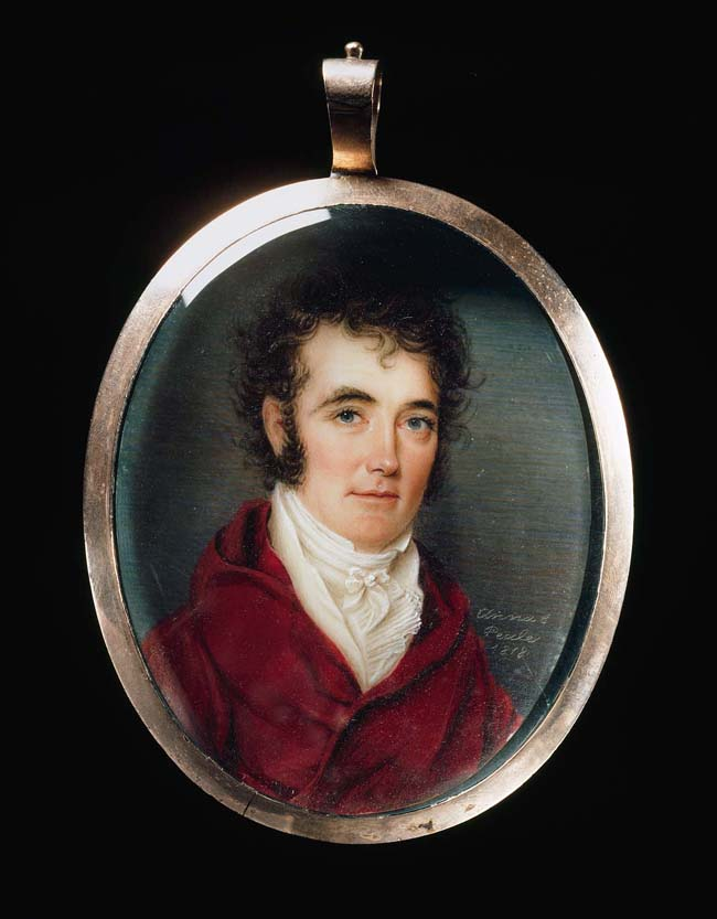 Anna Claypoole Peale, Colonel Richard M. Johnson, 1818