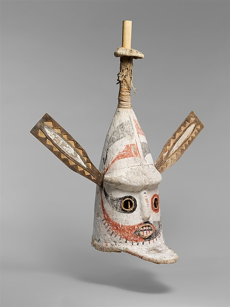 Bougainville or Nissan Island, Mask, late 19th–early 20th century, Met Museum