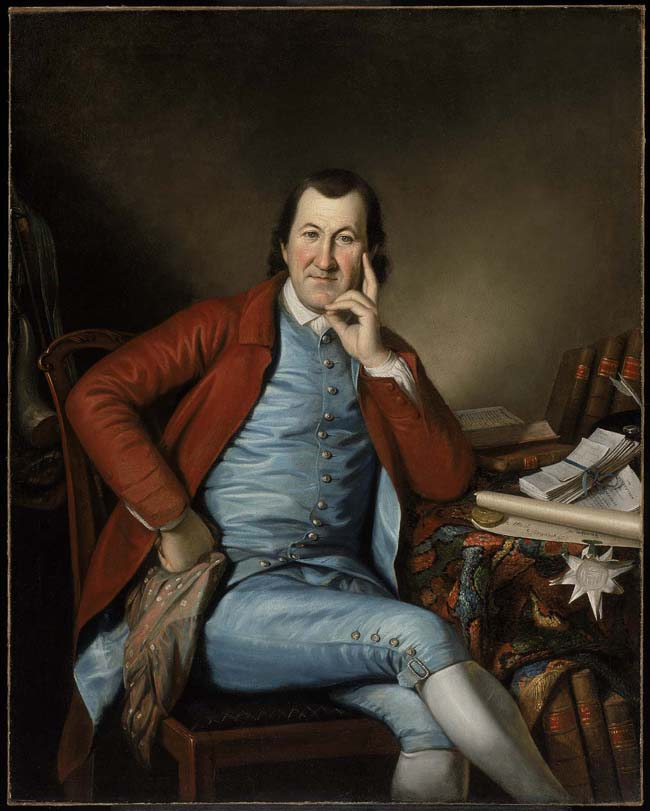 Charles Willson Peale, Timothy Matlack, after 1790