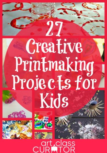 27 Creative Printmaking Projects for Kids