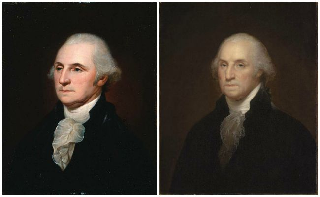 George Washington by Charles Willson Peale and Rembrandt Peale