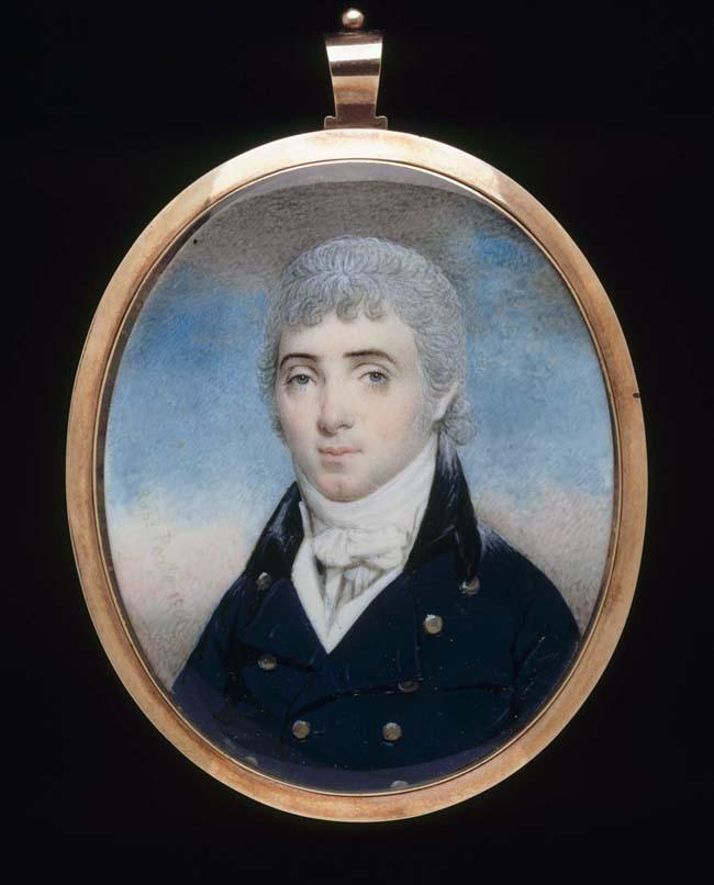 Raphaelle Peale, Andrew Ellicott, Jr., 1801