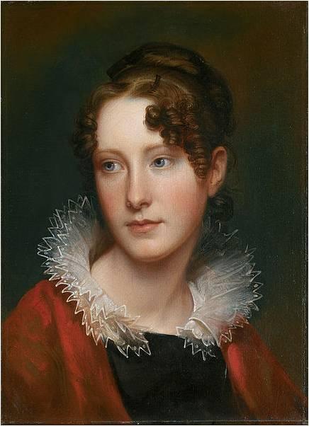 Rembrandt Peale, Portrait of Rosalba Peale, ca. 1820