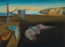 Salvador Dalí, Persistence of Memory, 1931