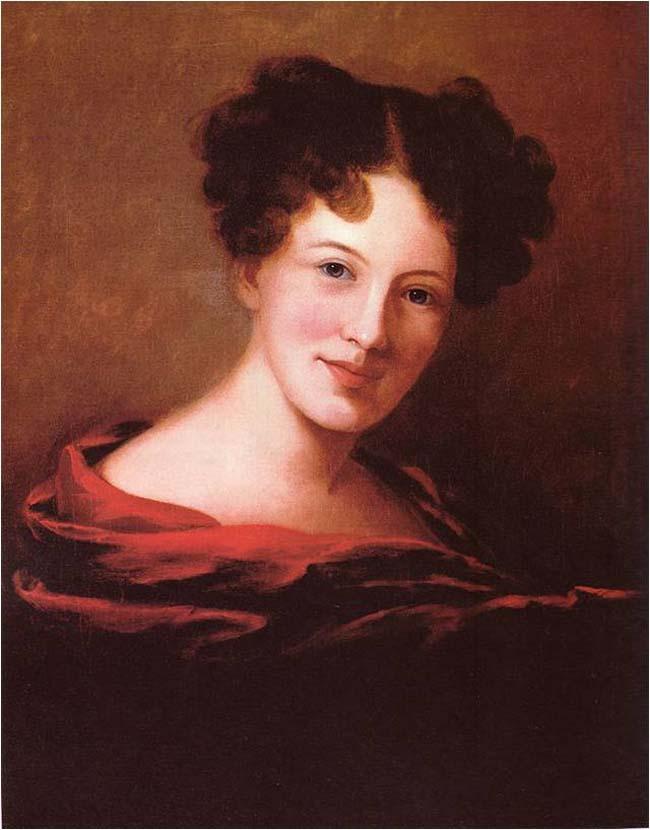 Sarah Miriam Peale, Self-Portrait, 1818