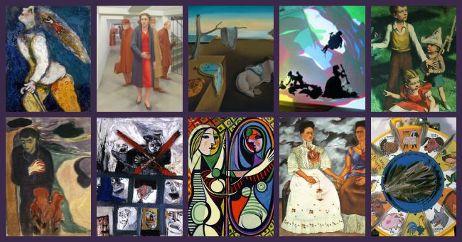 10 Artworks Perfect for an Art Criticism Lesson – Art Critique Worksheet