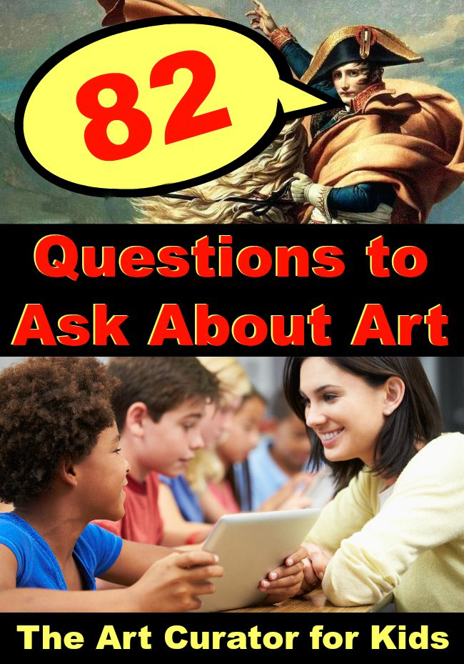82 Questions to Ask about Art