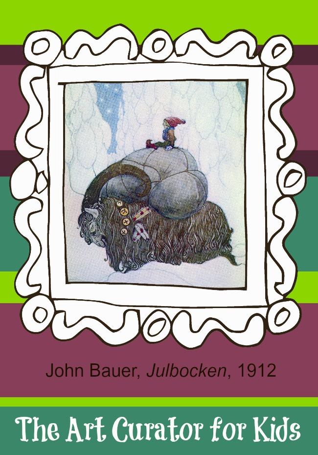 Artwork of the Week: Julbocken, The Christmas Goat