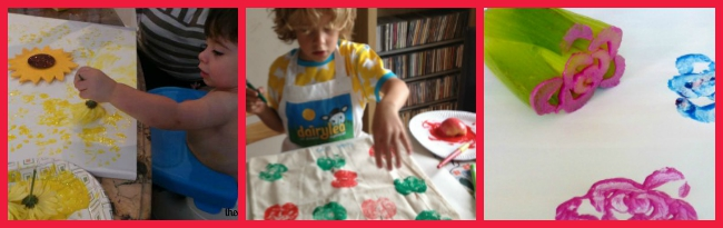 The Art Curator for Kids - Printmaking with Food
