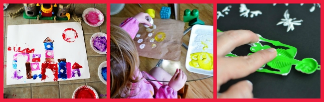 The Art Curator for Kids - Printmaking with Toys