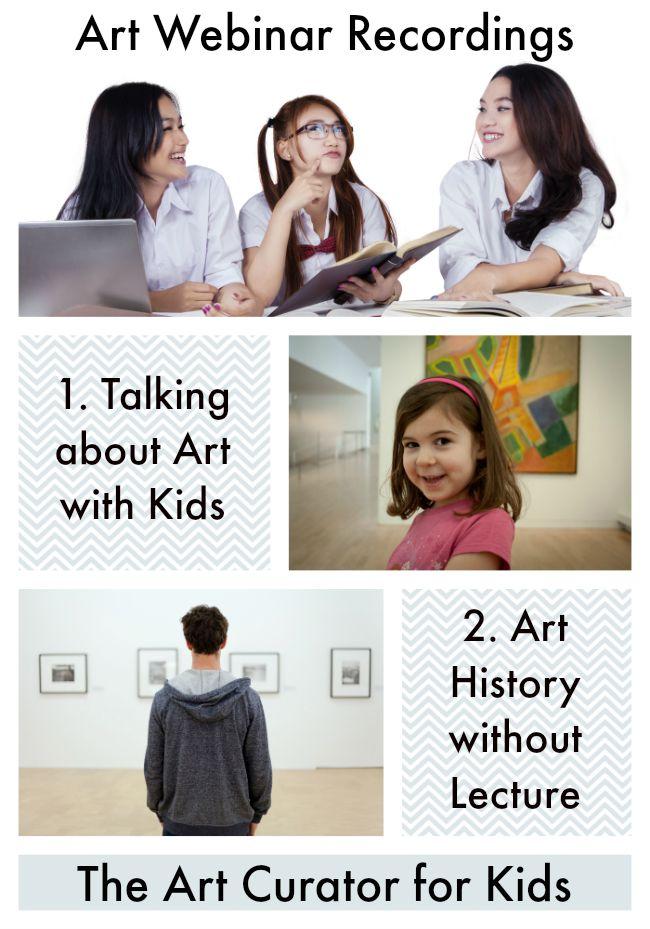 Art Education Webinar Recordings