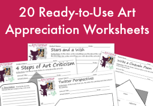 Art Appreciation Worksheets