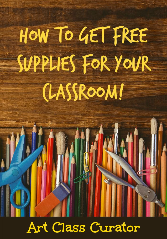 free classroom art supplies from donors choose