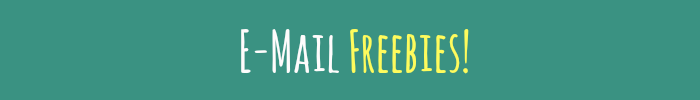 Email Freebies Banner