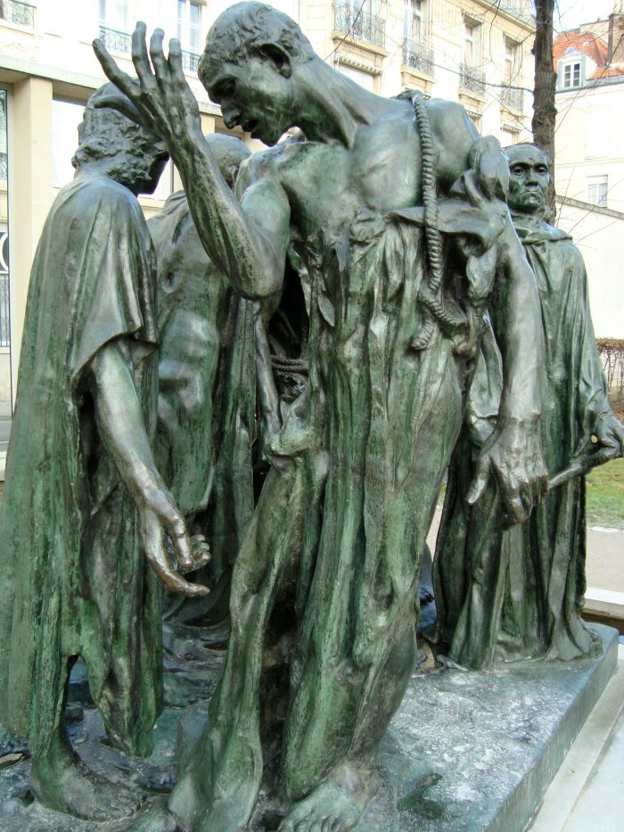 The Art Curator for Kids - Artwork of the Week - August Rodin Burghers of Calais - Photo Credit LPLT