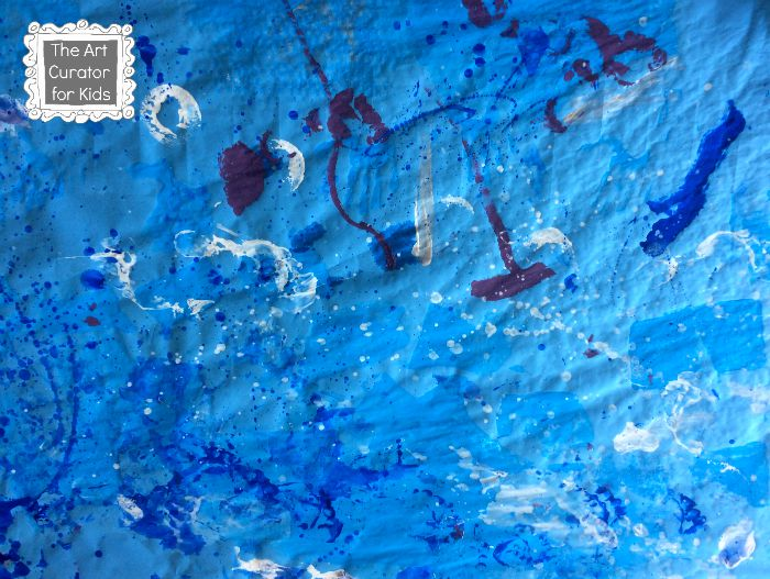The Art Curator for Kids - Ocean Process Art - Ocean Unit Study