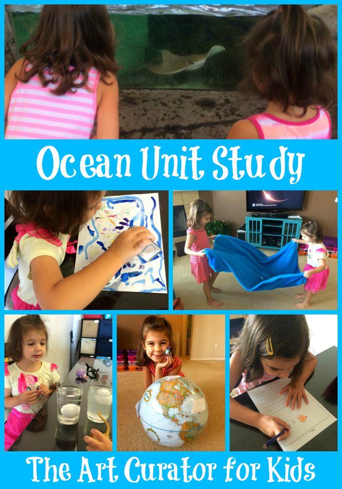 Ocean Unit Study – Week 1
