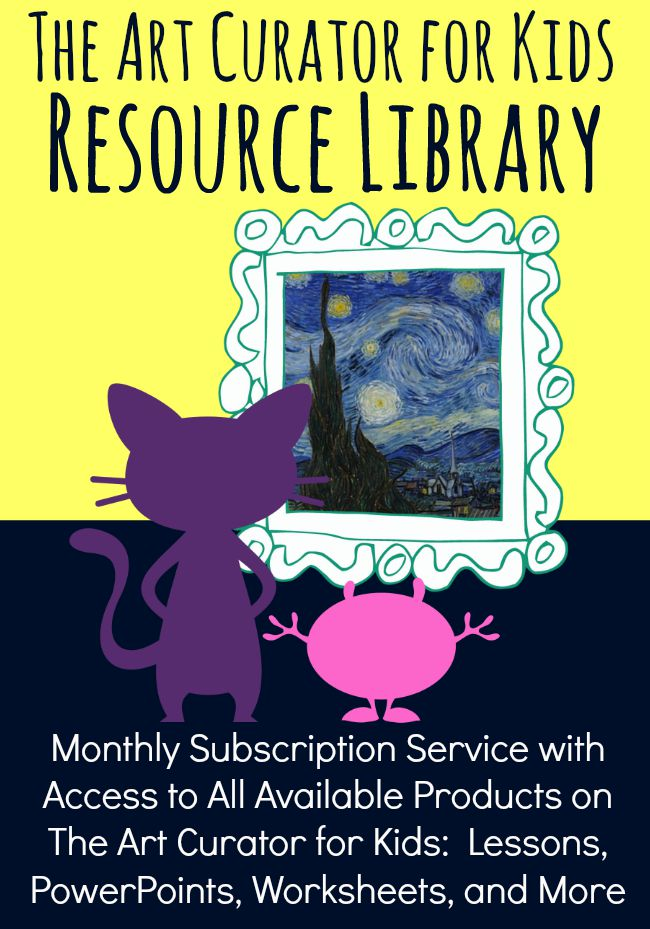 The Art Curator for Kids Resource Library