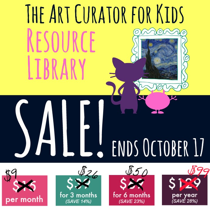 Sale on The Art Resource Library until Saturday