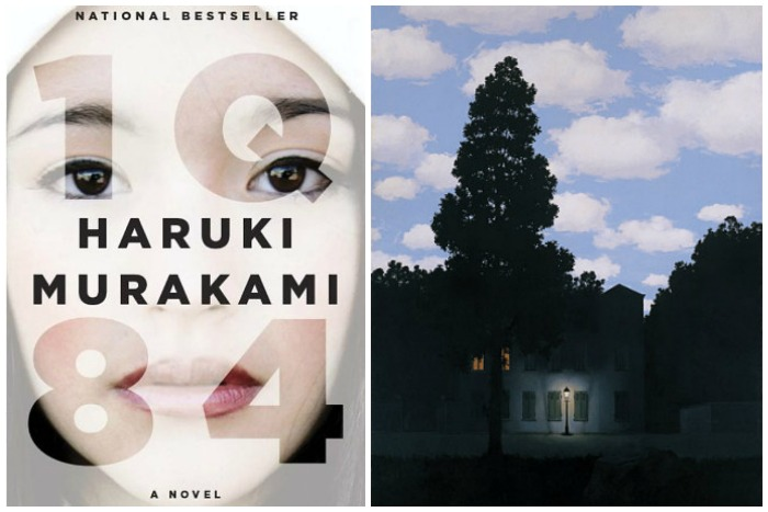 The Art Curator for Kids - Books with Art - 1Q84 and Magritte