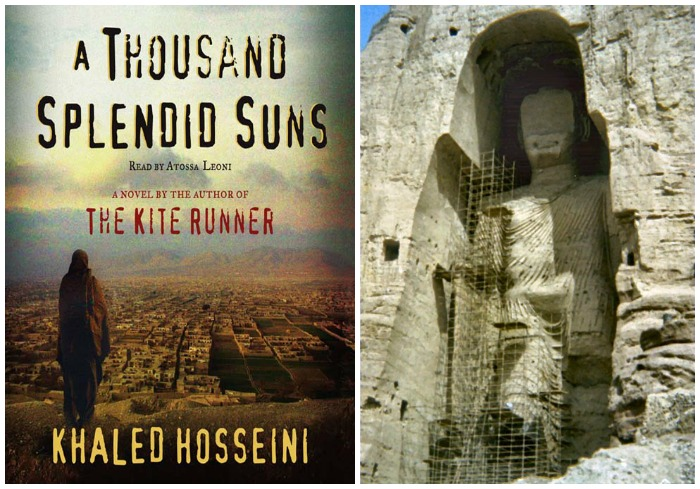 The Art Curator for Kids - Books with Art - A Thousand Splendid Suns and Buddha of Bamiyan