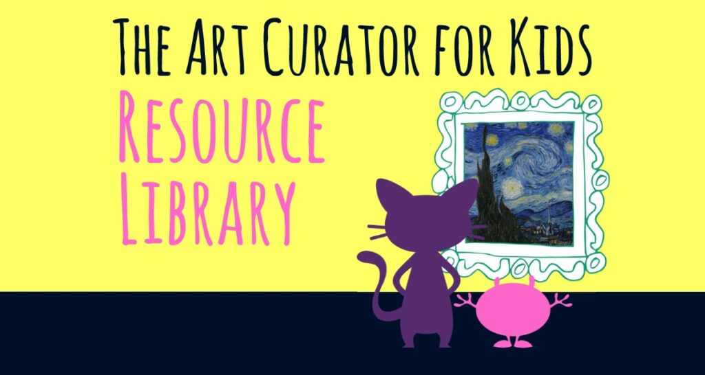 The Art Curator for Kids Resource Library - FB