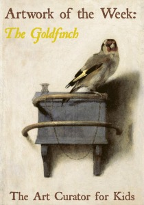The Art Curator for Kids - The Goldfinch by Carel Fabritius-300