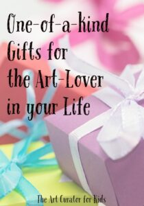 eBay Guide - The Art Curator for Kids - One-of-a-kind Gifts for the Art Lover in your Life