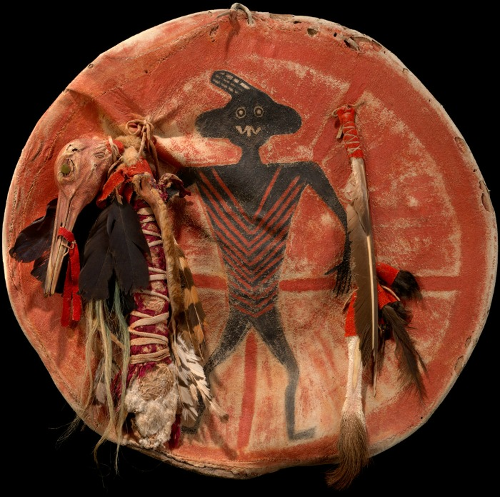 The Art Curator for Kids - Crow Nation Native American Indian Shield Lesson and Activity - Arapoosh (Sore Belly)'s Shield