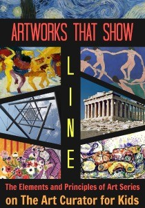 The Art Curator for Kids - Example Artworks that Show Line - The Elements and Principles of Art - 300