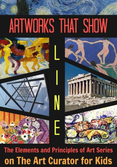 The Art Curator for Kids - Example Artworks that Show Line - The Elements and Principles of Art