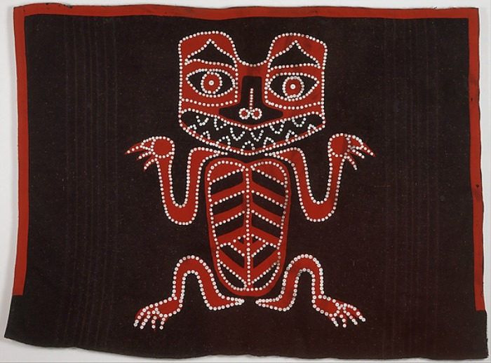 The Art Curator for Kids - Northwest Coast Indian Art Lesson Plans - Haida Button Blanket - Met Museum
