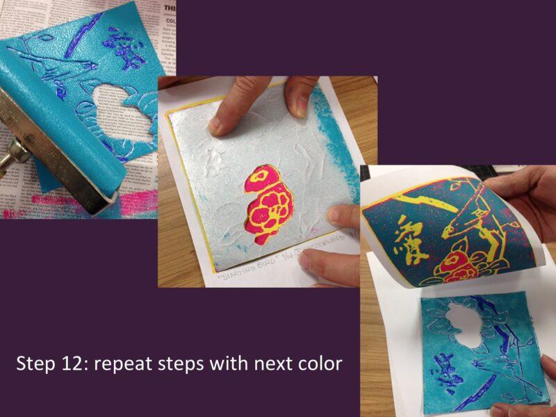 Printmaking Instructions - Art Class Curator