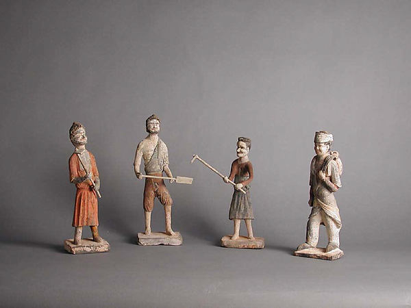 China, Tang Dynasty Figures, 7th Century, Met Museum
