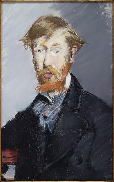 Édouard Manet, George Moore, 1879, Met Museum