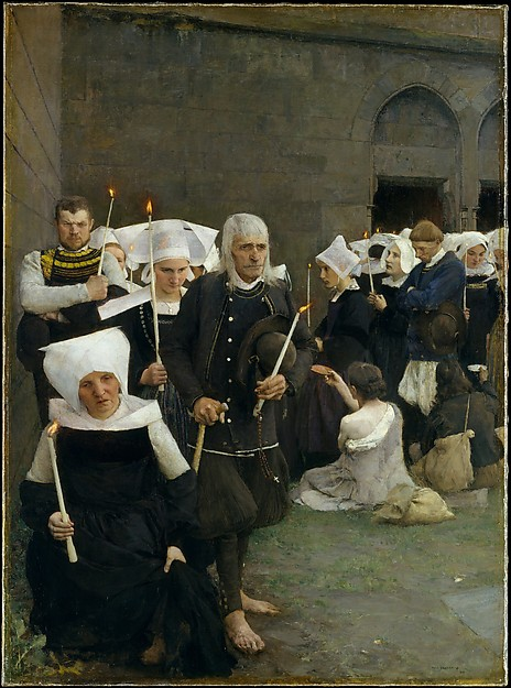 Pascal-Adolphe-Jean Dagnan-Bouveret, The Pardon in Brittany, 1886, Met Museum