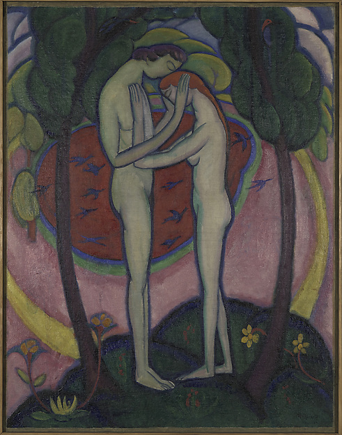 William Zorach, Spring in Central Park, 1914, Met Museum