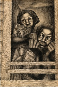 Civil Rights Movement Art - Charles White, Untitled, 1950