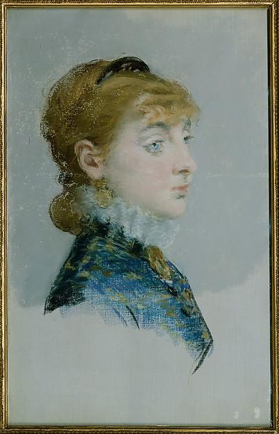 Édouard Manet, Mademoiselle Lucie Delabigne (1859–1910), Called Valtesse de la Bigne, 1879, Met Museum
