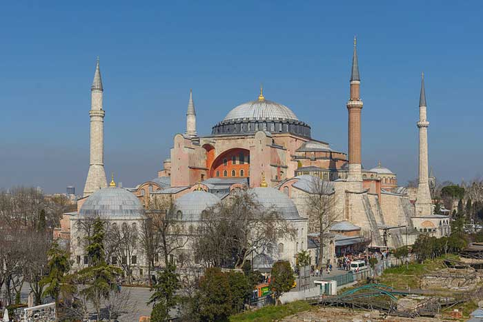 The Art Curator for Kids - My Art Bucket List - Hagia Sophia - Credit - Arild Vagen