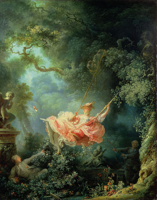 Jean-Honoré Fragonard The Swing