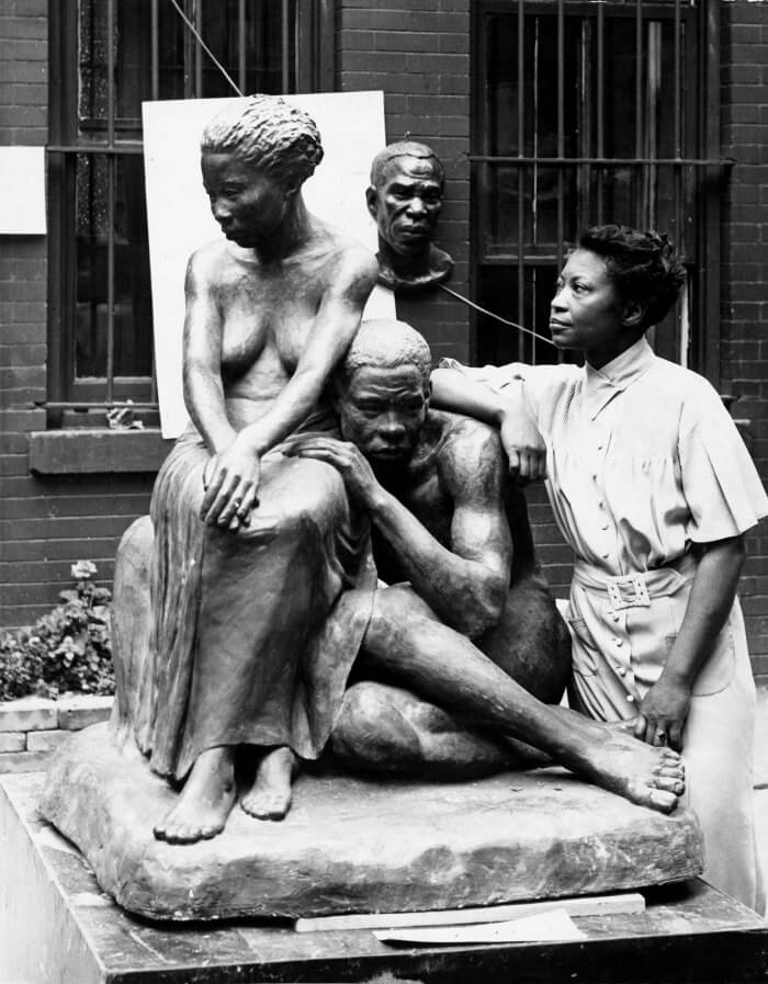 The Art Curator for Kids - Augusta Savage with Sculpture