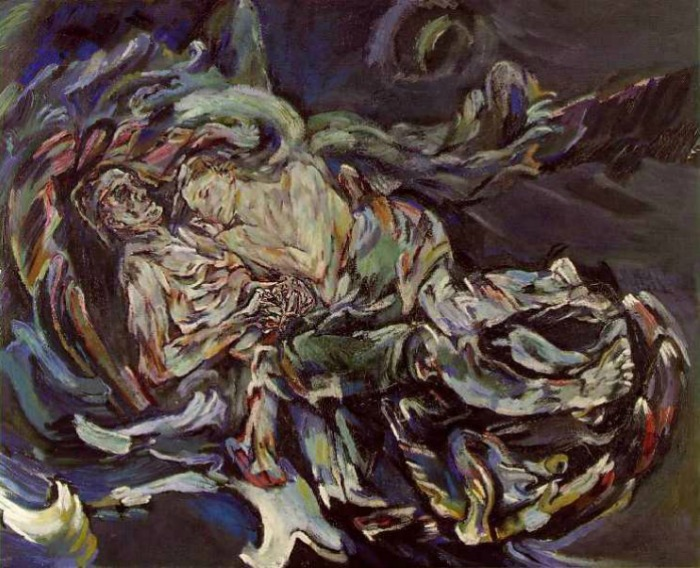 The Art Curator for Kids - Oskar Kokoschka - The Bride of the Wind - Art About Love