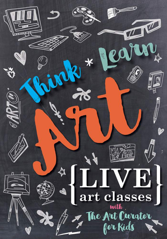 Think|Learn|Art – Free Live Art Lessons Online