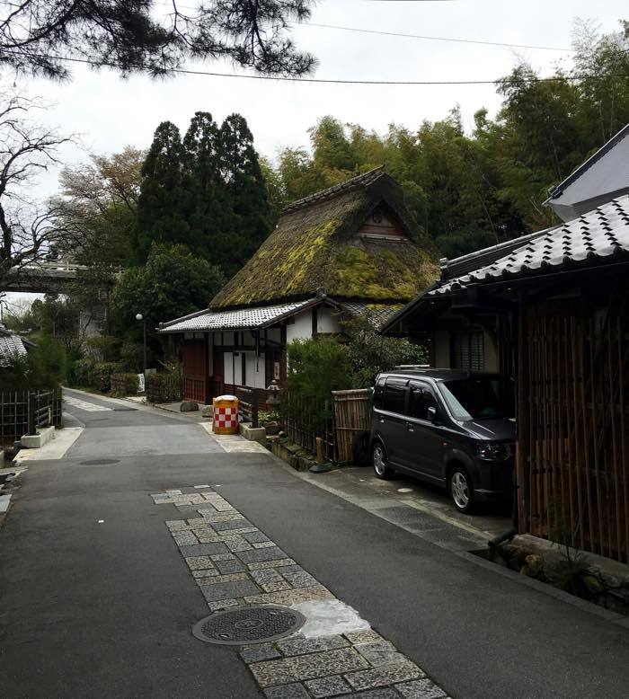 Arashiayama District, Walk to Otagi Nenbutsu-ji Temple