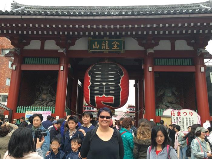 Me at Sensō-ji