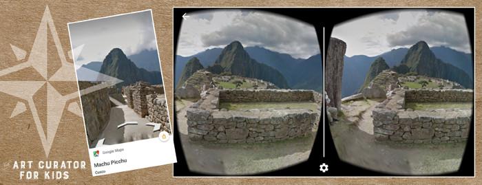 Google Cardboard Art - Cusco Peru-Machu Picchu